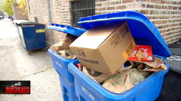 Chicago Apartment Residents Say They Want to Recycle, But Buildings Don't Provide It