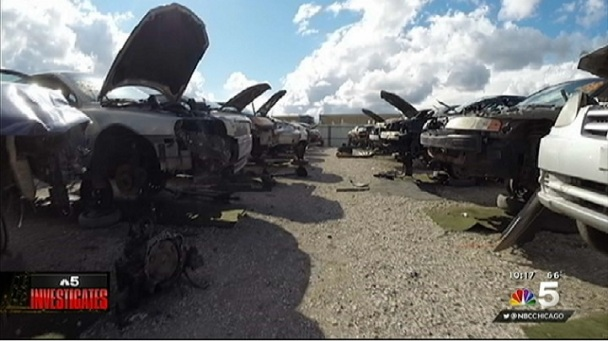 Items in Junkyard Cars May Leave Consumers Vulnerable to ID Theft