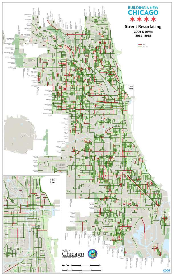 These Are the Chicago Streets That Will Be Repaved This Year ... on 1880 chicago map, magnificent mile map, downtown chicago map, chicago walking map, city of chicago map, chicago zip code map, chicago cemetery map, chicago highway map, chicago illinois map, logan park chicago map, south side chicago map, chicago district map, chicago sightseeing map, chicago on a map, 4th ward chicago map, chicago loop map, chicago suburbs map, chicago block map, chicago house number map, chicago harbour map,