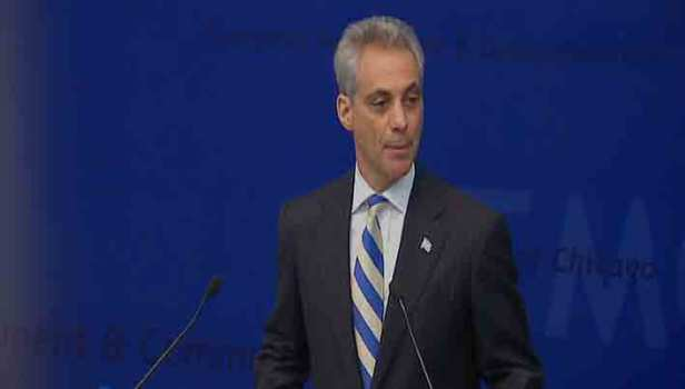 Rahm Speaks (To The) French