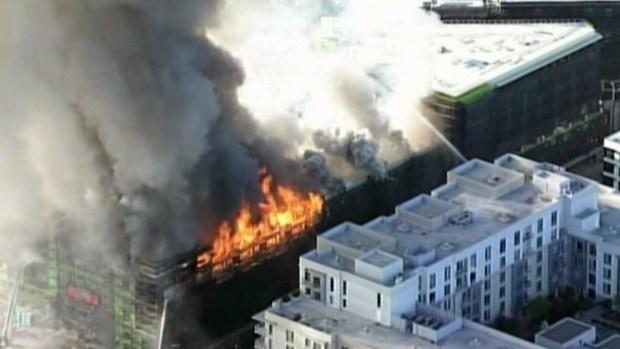 [BAY] San Francisco Firefighters Battling Massive Blaze