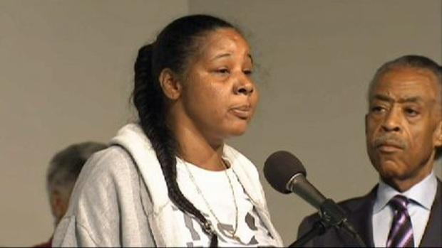 [NY] Eric Garner's Wife Calls for Action After Chokehold Death Ruled a Homicide
