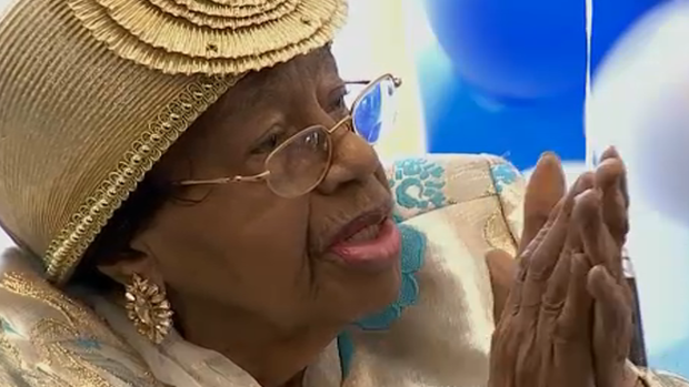 Chicago Woman Celebrates 103rd Birthday With Pritzker