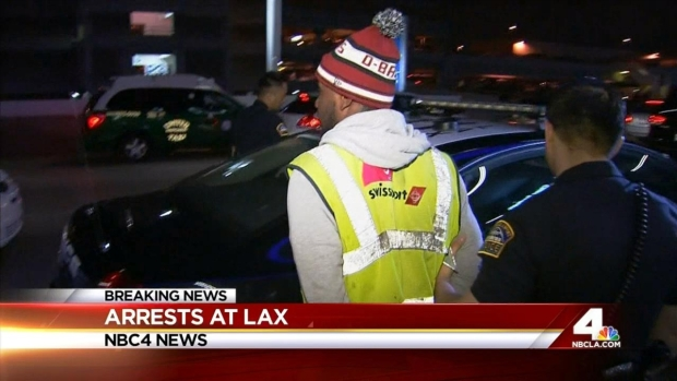 [LA] Workers at LAX in Custody After Raid