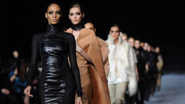 Kanye Unveils Collection at Paris Fashion Week
