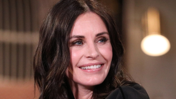 [NATL-AH] Courteney Cox Trains Toddler To Say 'Friends' Catchphrase