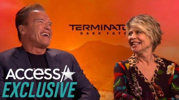 [NATL-AH] Arnold Schwarzenegger Applauds Linda Hamilton's 'Terminator' Transformation