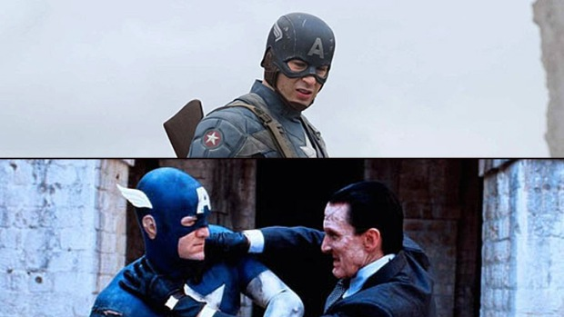 "New Look at ""Captain America,"" Cheesy Old ""Captain America"" Director's Cut on The Way"