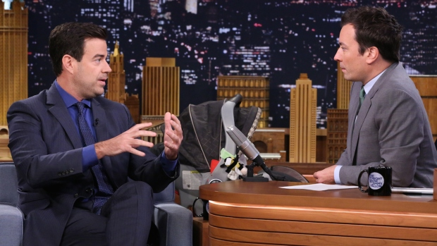 """[NATL] Fallon: Carson Daly Dishes on What Happens Backstage on """"The Voice"""""""