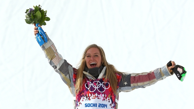 [AP] Snowboarder Jamie Anderson Grabs 2nd U.S. Gold for Sweep
