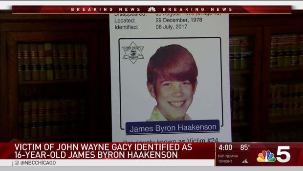 [CHI] Victim of Serial Killer John Wayne Gacy Identified