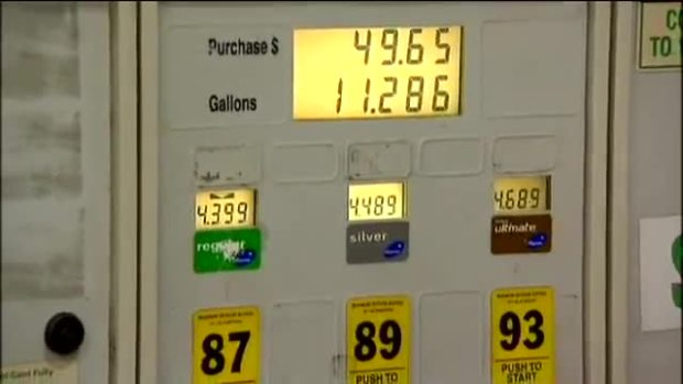 Gas Prices Rising In Chicago