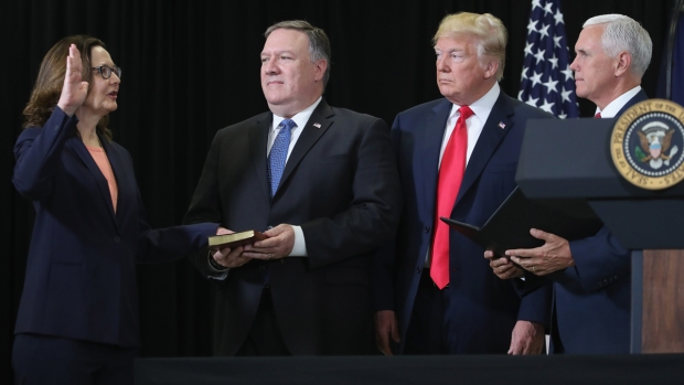 [NATL] Top News Photos: Gina Haspel Sworn in as CIA Director