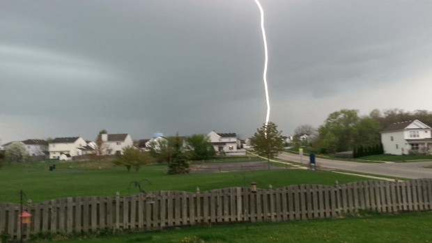 Your Mother's Day Storm Photos