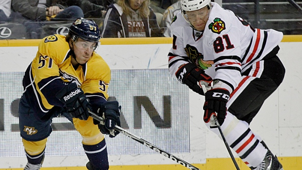The Chase With One Leg: Predators at Hawks