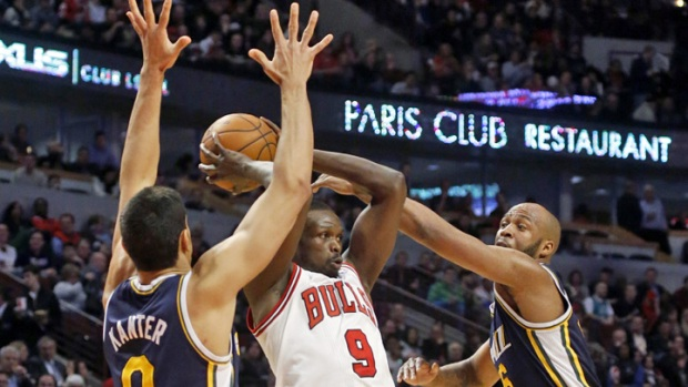 Belinelli Lifts Bulls Over Jazz