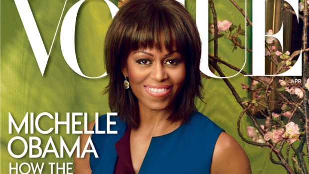 First Lady Outlines Priorities In Vogue