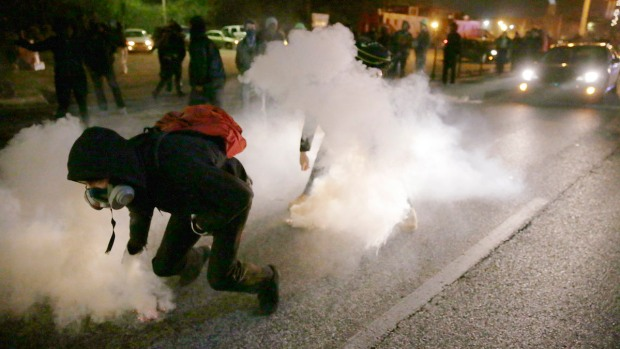 Police Chief: Less Violence in Ferguson