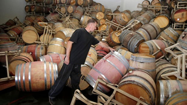 Dramatic Photos: Earthquake Wreaks Havoc in Napa