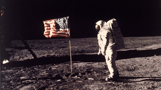 [NATL-VERTICAL]One Giant Leap: The First Moon Landing in Photos