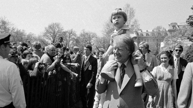 [NATL] Scenes From Historic Presidential Easter Egg Rolls