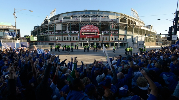 Chicago Celebrates Cubs' Win With Massive Parade