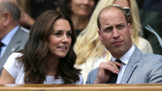 Celebs in the Stands: Prince William & Kate at Wimbledon
