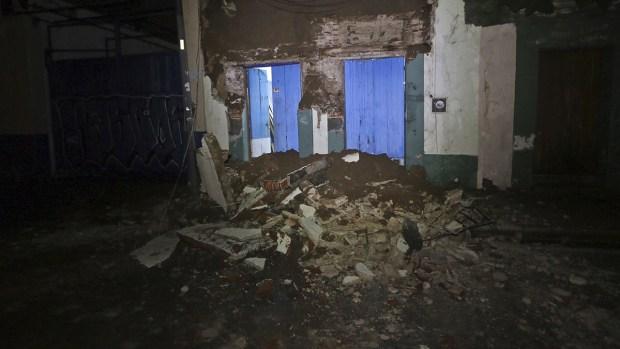 Massive, Deadly Earthquake Strikes Southern Mexico