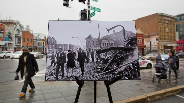 [NATL] Then and Now: Scenes From DC After MLK's Assassination