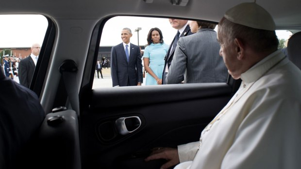[NATL] Top Photos From Pope Francis' U.S. Visit