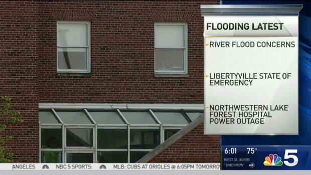 [CHI] Rain Ends, But Flooding Concerns Far From Over