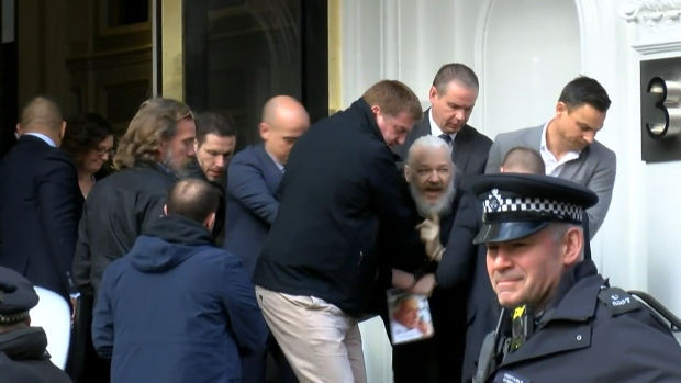 [NATL] 'WikiLeaks' Founder Julian Assange Arrested, Taken Out of Ecuador Embassy