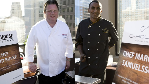 Celeb Chefs Team Up For BBQ Bootcamp