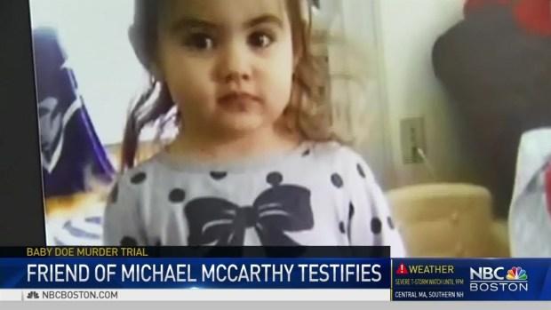 Friend of McCarthy Testifies in Bella Bond Murder Trial