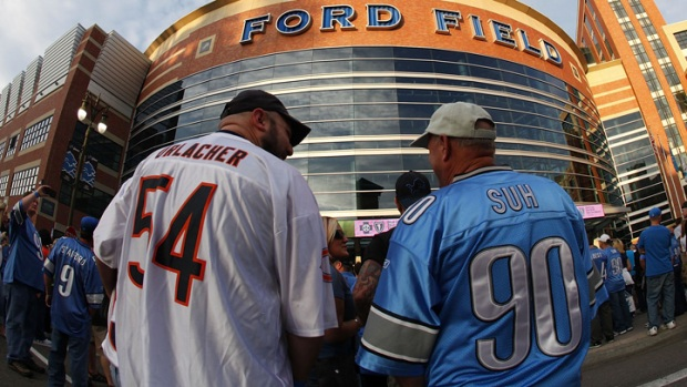 Bears vs. Lions Game Moved