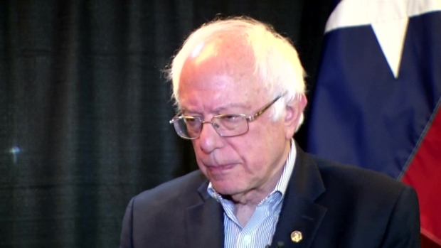 [NATL-DFW] Raw Video: Sen. Bernie Sanders One-on-One