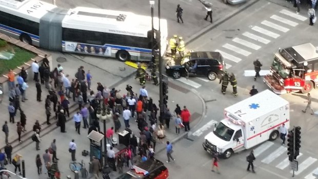 [CHI] One Dead, Several Injured in Downtown Crash