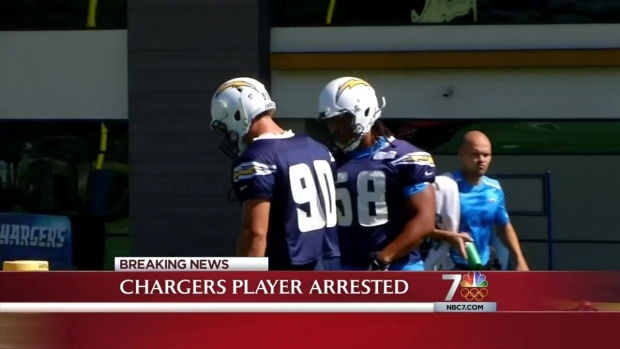 [DGO] Chargers Player Arrested Right Before Playoffs