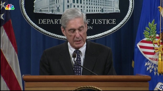 [NATL] Watch Robert Mueller's Full Remarks on His Russia Report