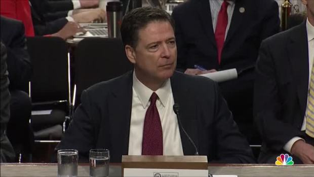 [NATL] Comey: 'Release All the Tapes'