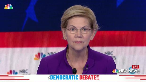 Elizabeth Warren: 'Economy Doing Great for Those With Money'