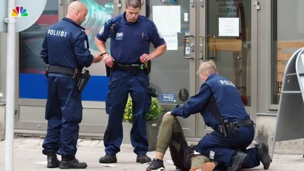 [NATL] 2 Dead, 6 Injured in Knife Attack in Turku, Finland