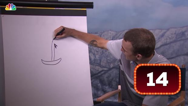 [NATL] What Is Nick Goepper Drawing?