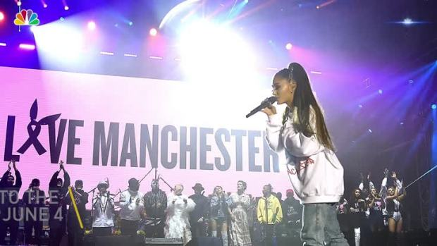Ariana Grande Returns to Stage to Honor Manchester Victims