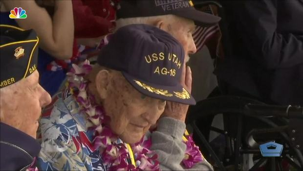 [NATL] Pearl Harbor Survivors Remember 'Day of Infamy'