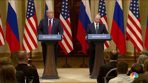 [NATL] Trump, Putin News Conference: Watch the Full Q&A