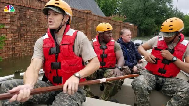 National, State Guard Help Out in Houston