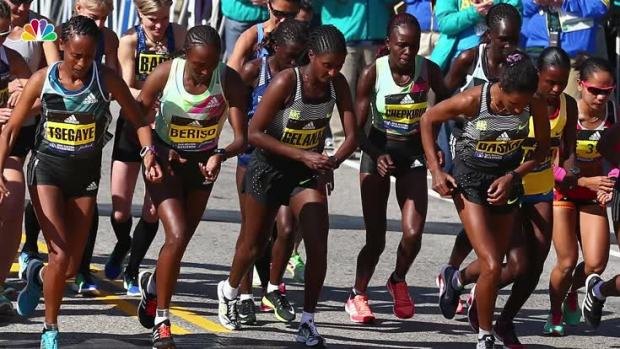 US Finishes Strong But Kenyans Sweep Boston Marathon