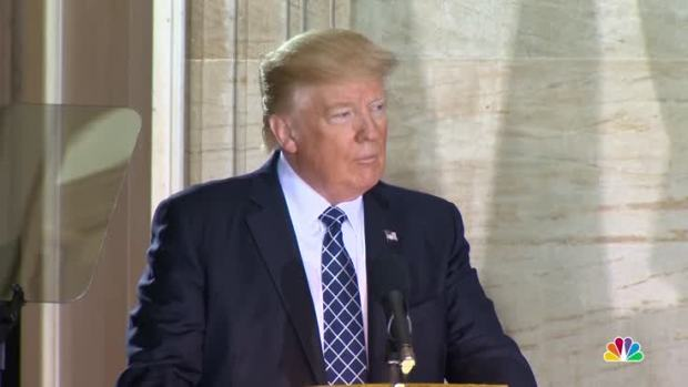 [NATL] On Holocaust Remembrance Day, Trump Pledges to 'Confront Anti-Semitism'
