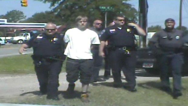 [NATL] WATCH: Police Dashcam Video of Dylann Roof's Arrest